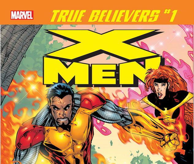 TRUE BELIEVERS: X-MEN - KARIMA SHAPANDAR, OMEGA SENTINEL 1 #1