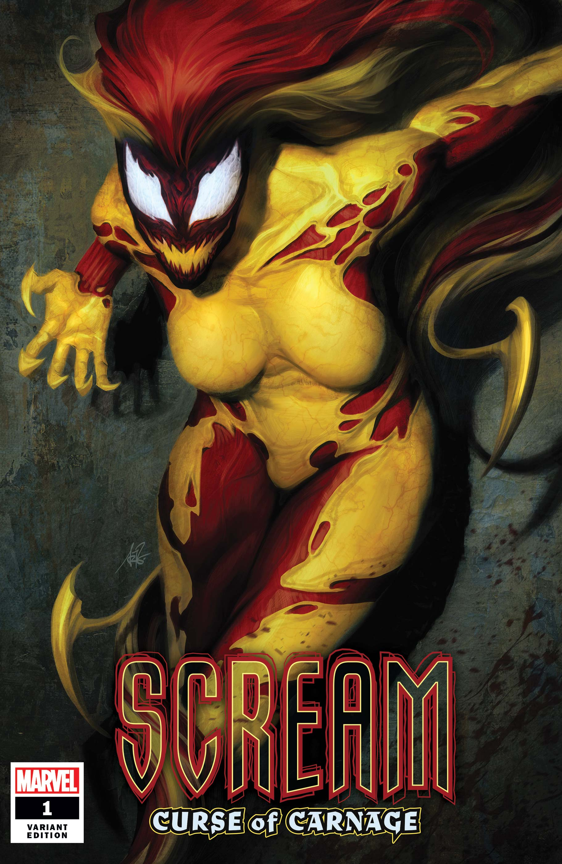 Scream: Curse of Carnage (2019) #1 (Variant)