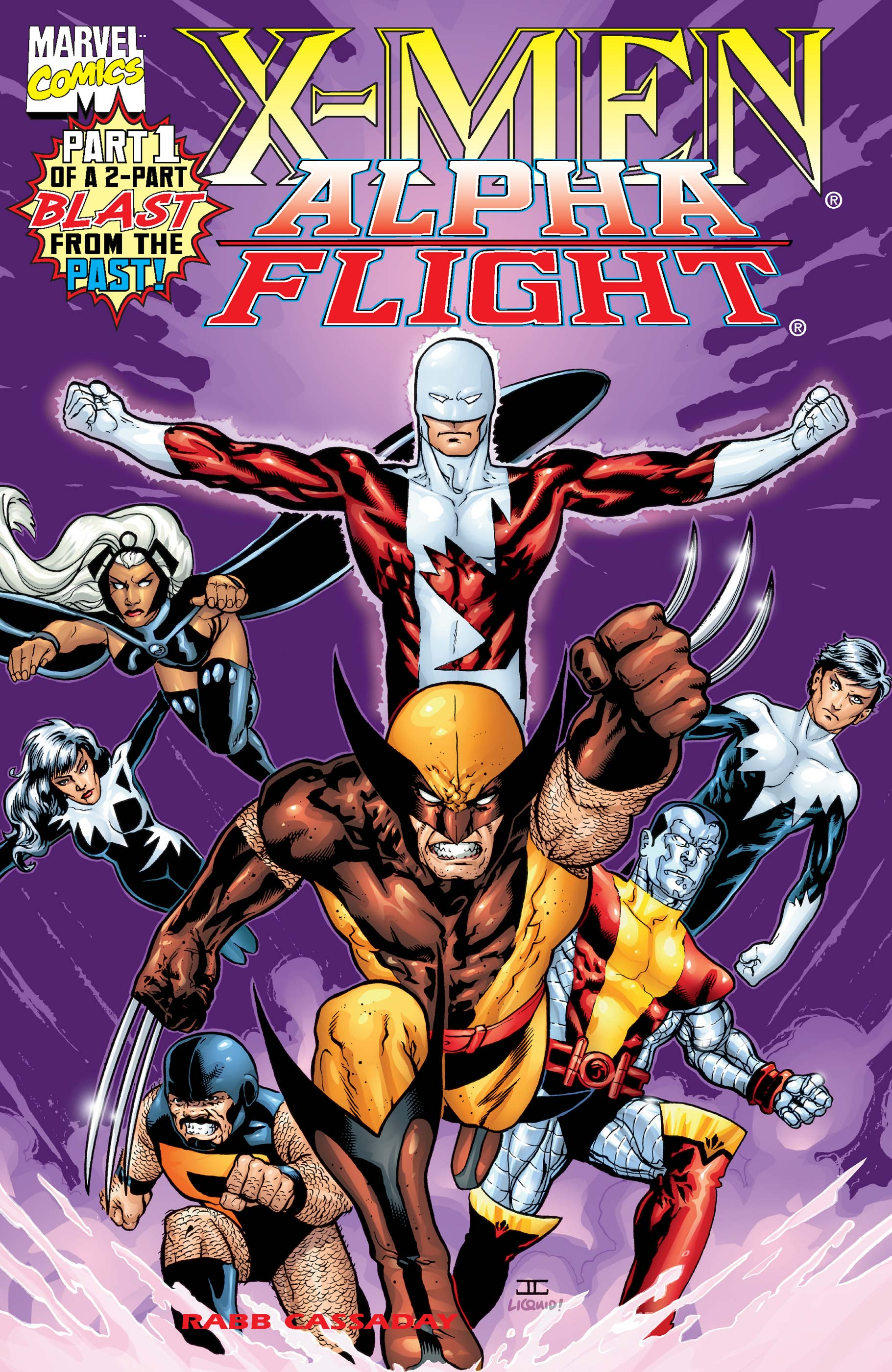 X-Men/Alpha Flight (1998) #1