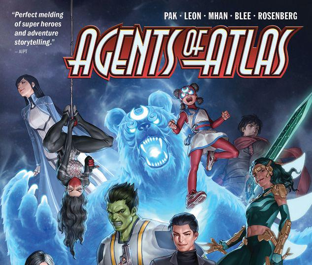 AGENTS OF ATLAS: PANDEMONIUM TPB #1