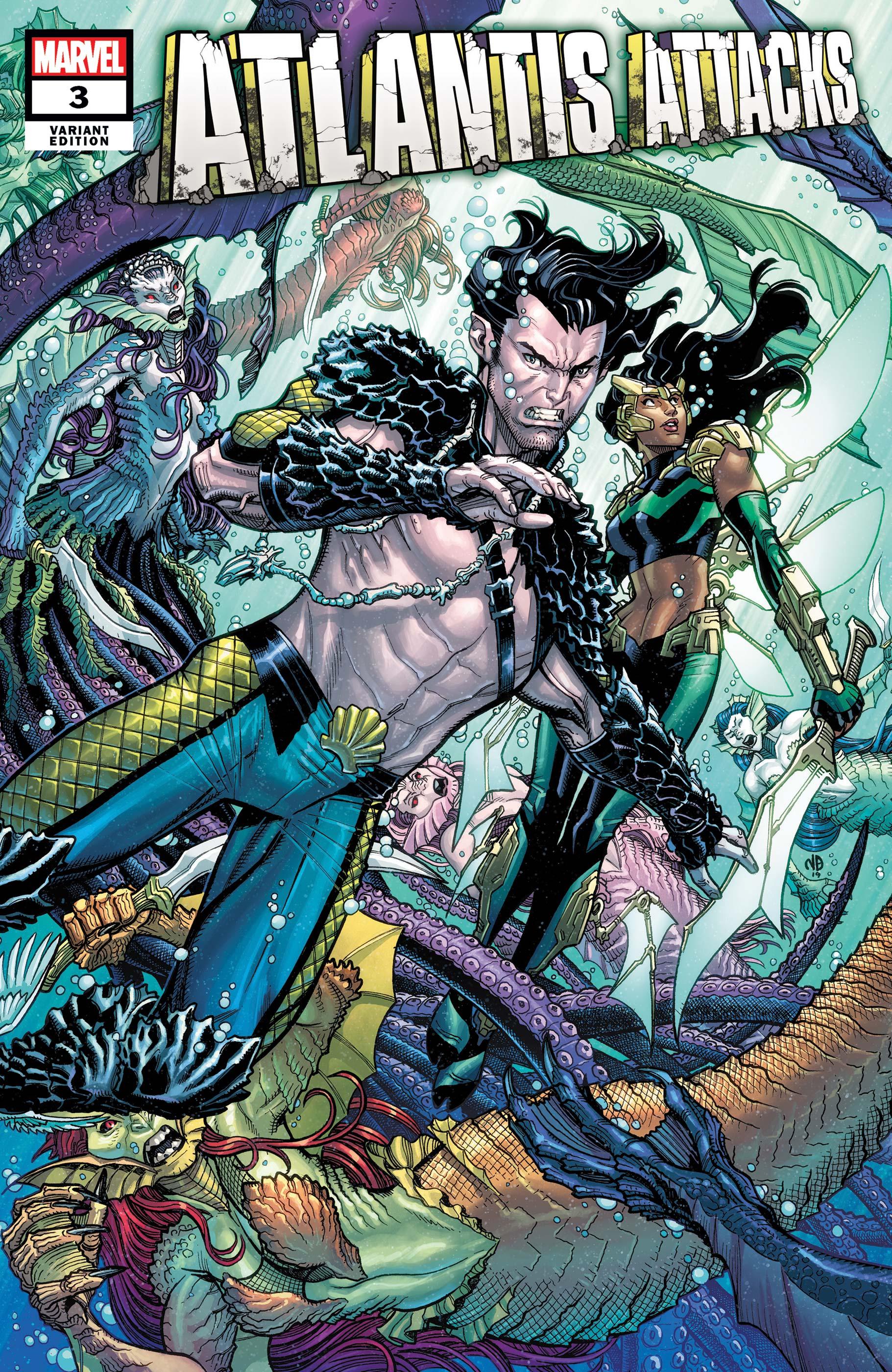 Atlantis Attacks (2020) #3 (Variant)