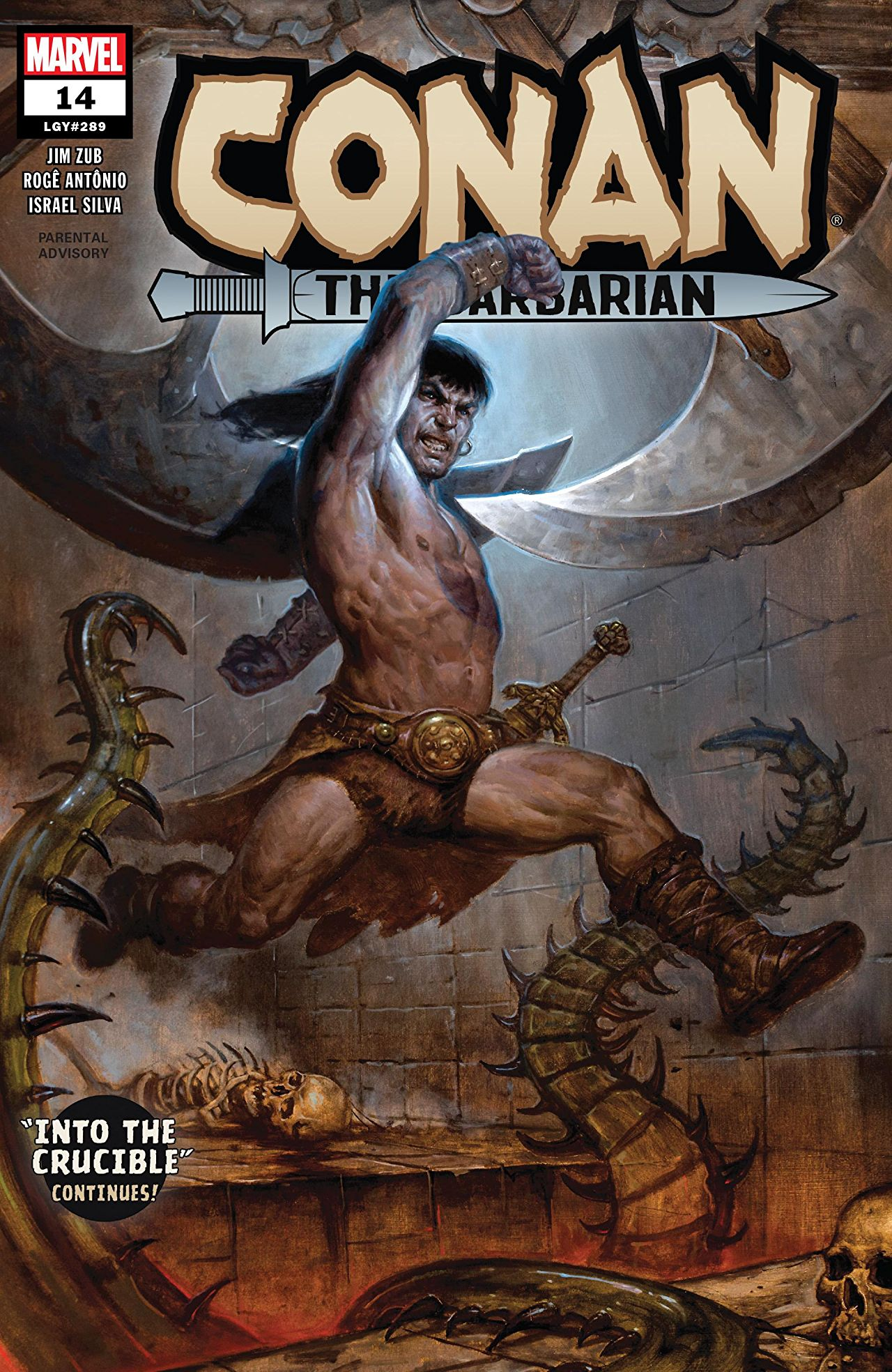Conan the Barbarian (2019) #14