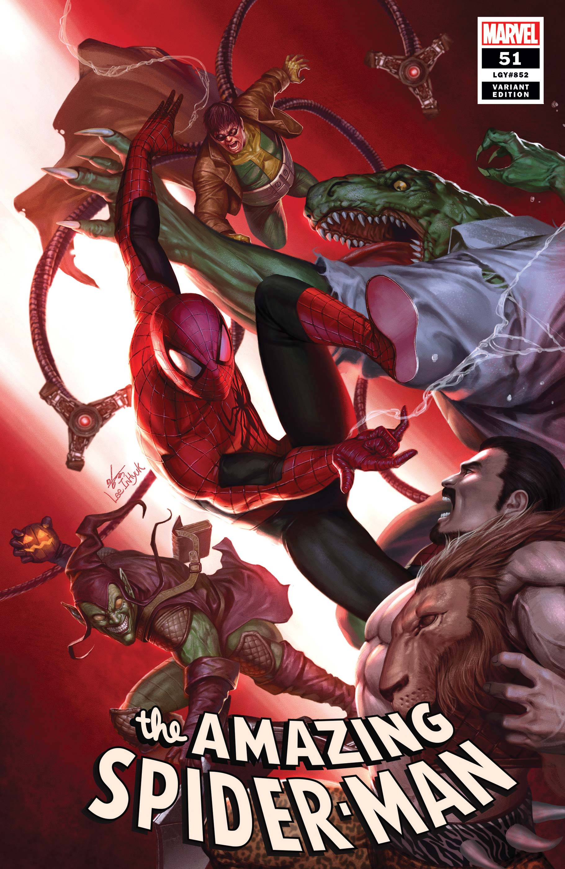 The Amazing Spider-Man (2018) #51 (Variant)