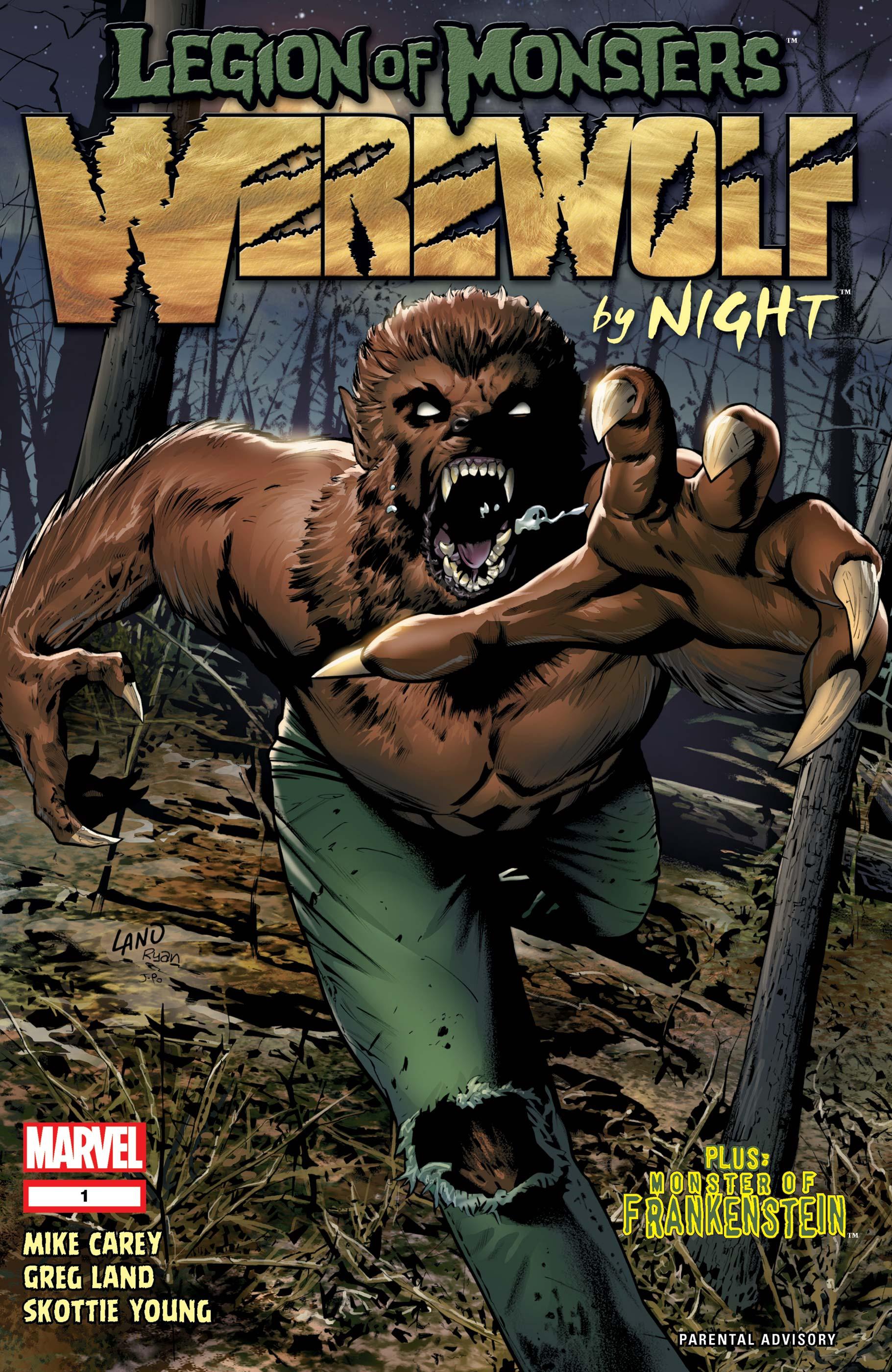 Legion of Monsters: Werewolf by Night (2007) #1