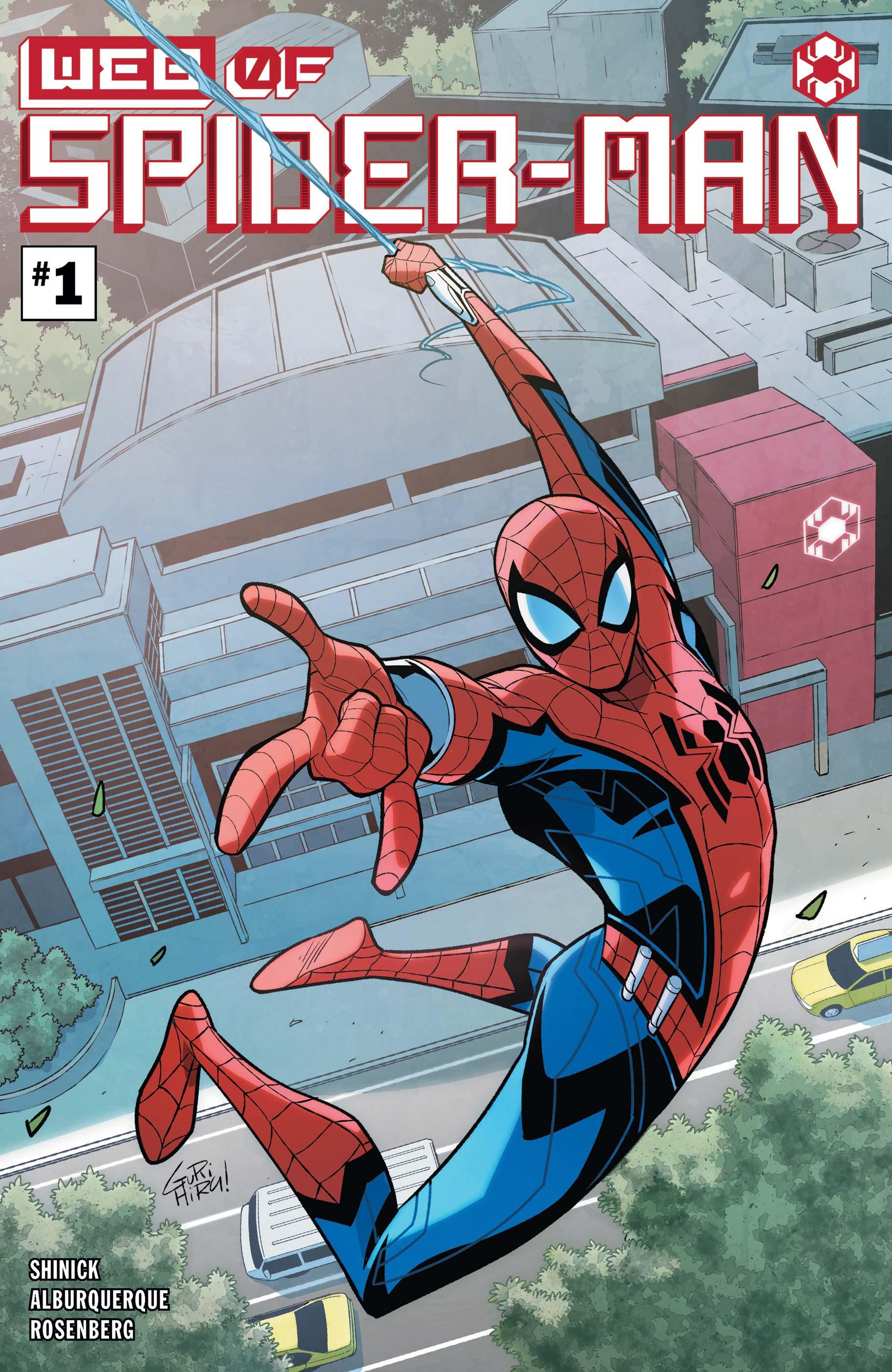 W.E.B. of Spider-Man (2021) #1