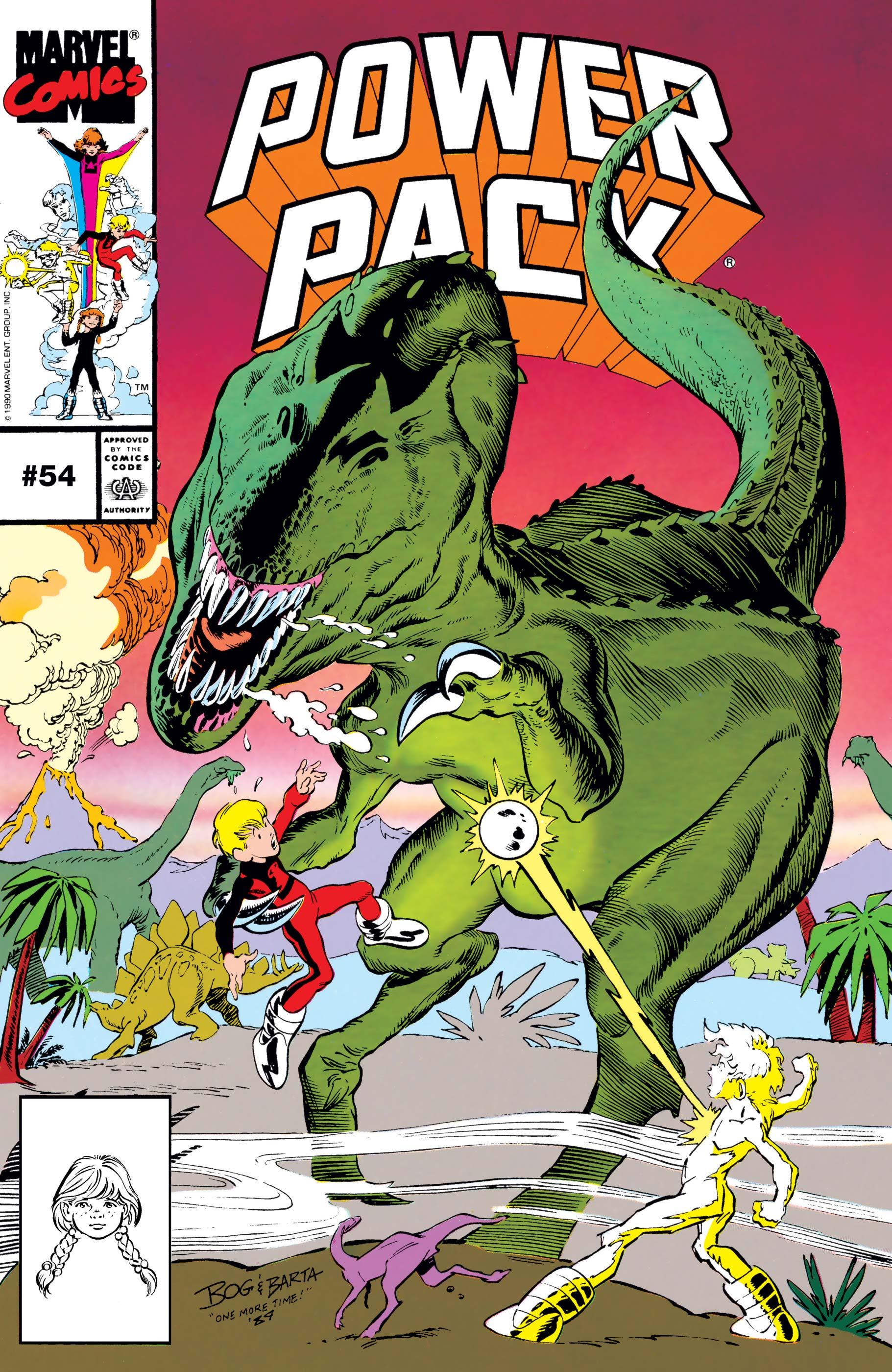 Power Pack (1984) #54
