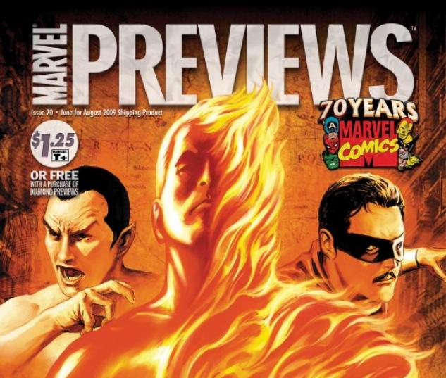 MARVEL PREVIEWS #70