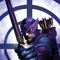 DARK REIGN: HAWKEYE #1 cover by Clint Langley