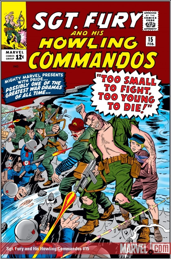 Sgt. Fury and His Howling Commandos (1963) #15