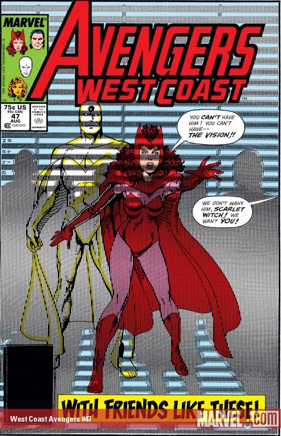 West Coast Avengers (1985) #47