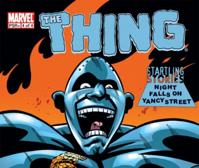 Startling Stories: The Thing - Night Falls on Yancy Street #4