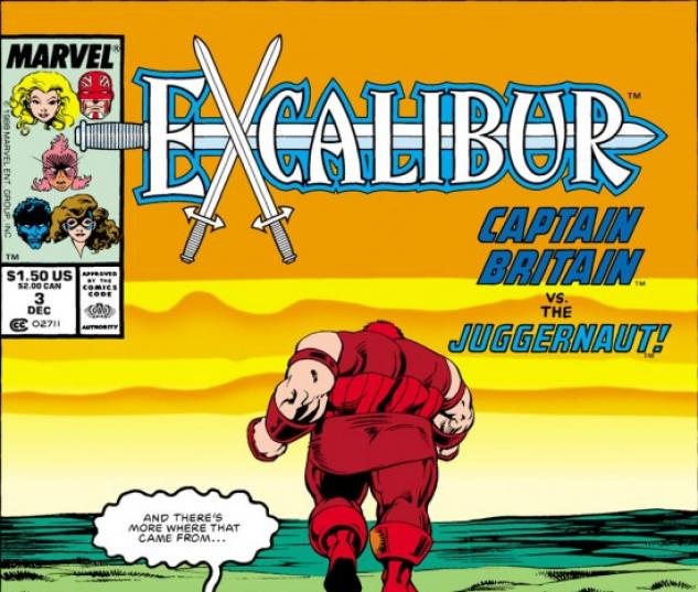 EXCALIBUR #3 COVER