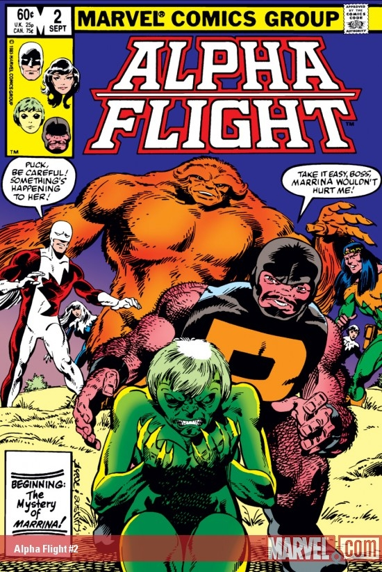 Alpha Flight (1983) #2