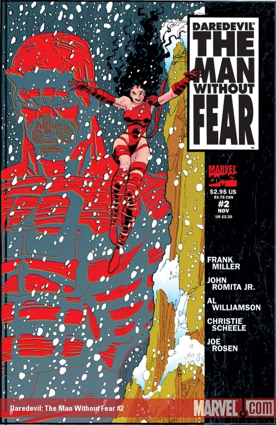 Daredevil: The Man Without Fear (1993) #2