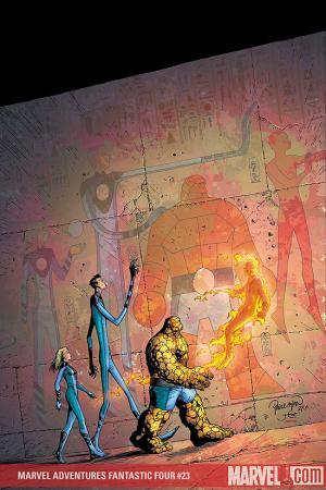 Marvel Adventures Fantastic Four #23