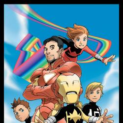 IRON MAN AND POWER PACK #1