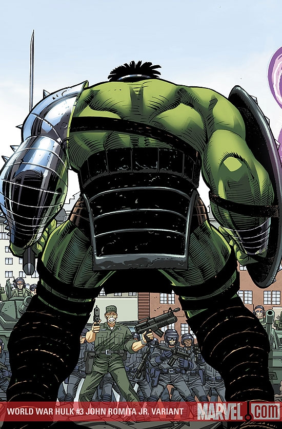 World War Hulk (2007) #3 (John Romita Jr. Variant)