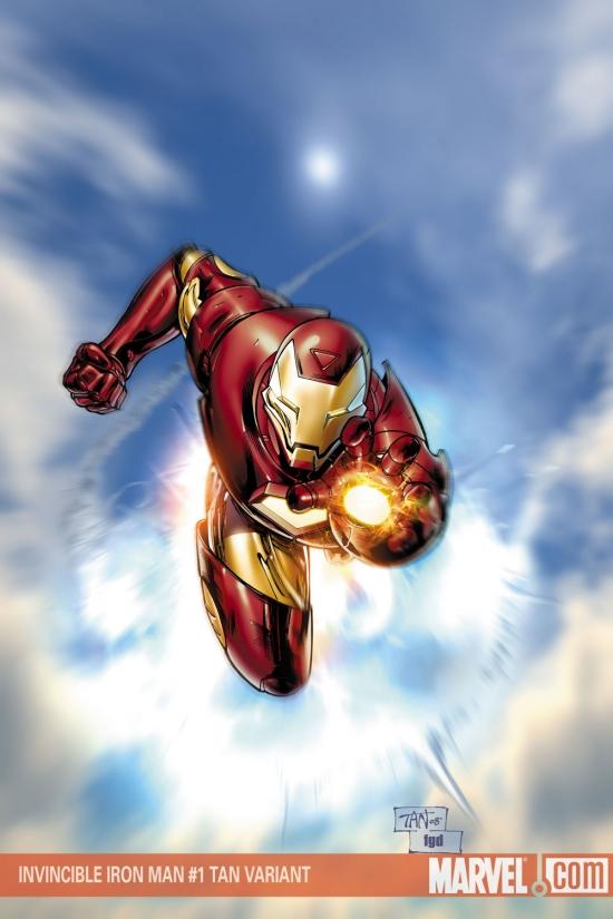 Invincible Iron Man (2008) #1 (Variant)