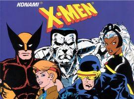 Image Featuring Colossus, Cyclops, Dazzler, Nightcrawler, Storm, Wolverine