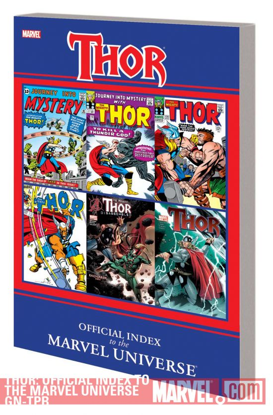 Thor: Official Index to the Marvel Universe GN-TPB (Graphic Novel)