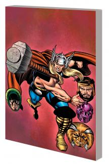 Thor: Black Galaxy Saga TPB (Trade Paperback)