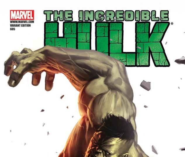 Incredible Hulks (2009) #605, DJURDJEVIC 70TH ANNIVERSARY VARIANT