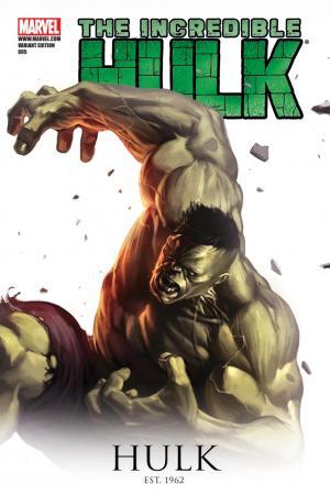 Incredible Hulks (2010) #605 (DJURDJEVIC 70TH ANNIVERSARY VARIANT)