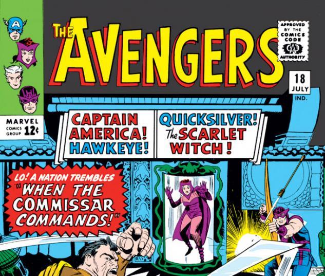 Avengers (1963) #18 cover