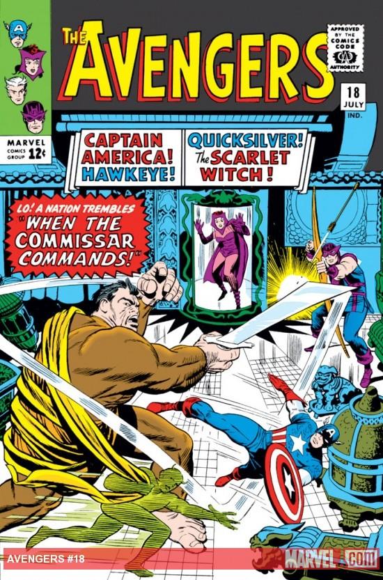 Avengers (1963) #18