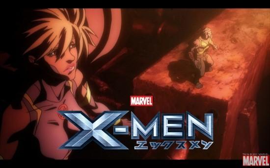 X-Men anime series wallpaper #3