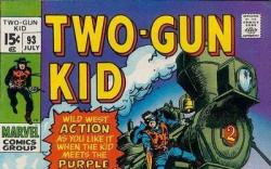 Two-Gun Kid #93 cover by John Severin
