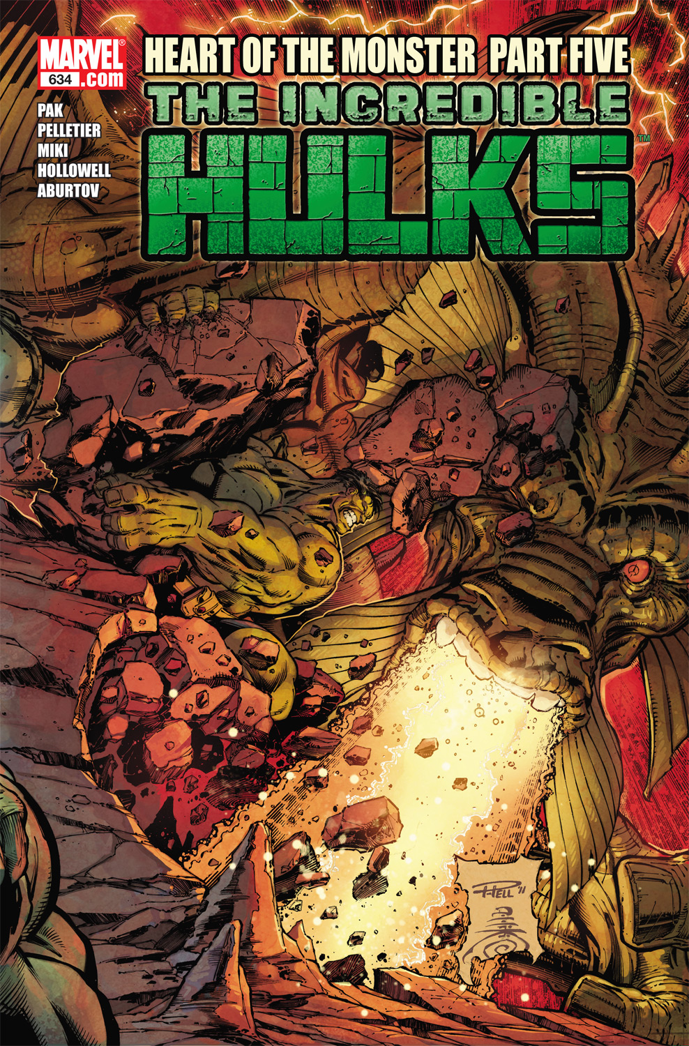 Incredible Hulks (2010) #634