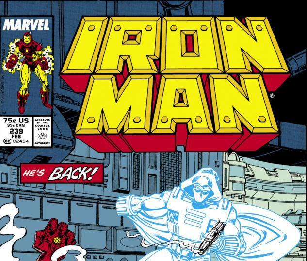 Iron Man (1968) #239 Cover