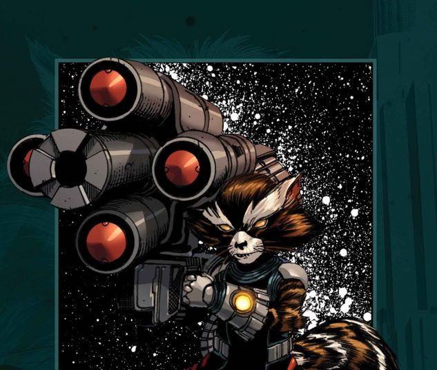 Rocket Raccoon: Tales from Half-World (2013) #1 Cover