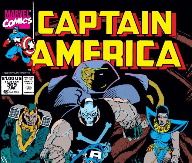 Captain America (1968) #369 Cover