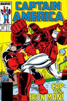 Captain America #341