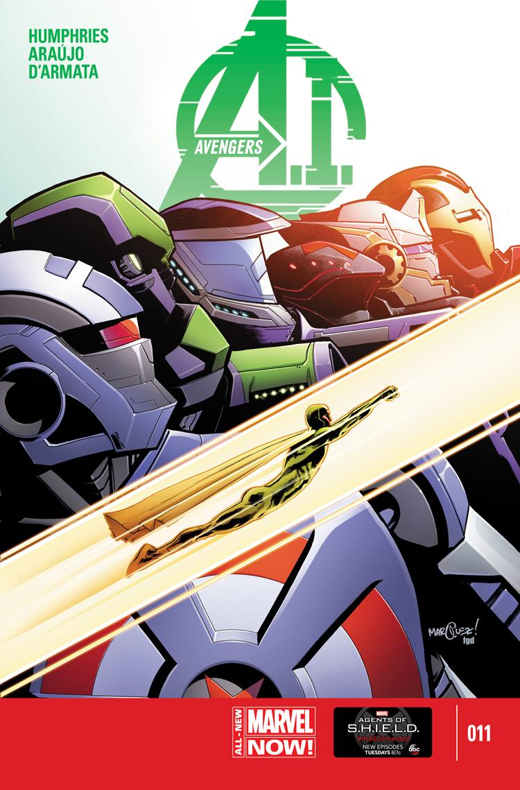 Avengers A.I. (2013) #11