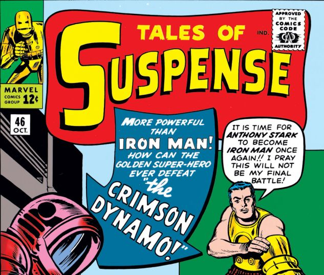 Tales of Suspense (1959) #46 Cover
