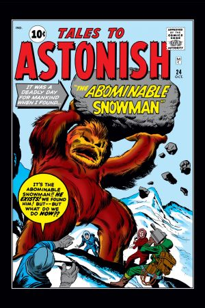 Tales to Astonish #24