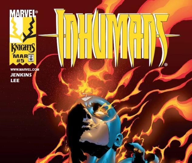 Inhumans (1998) #5