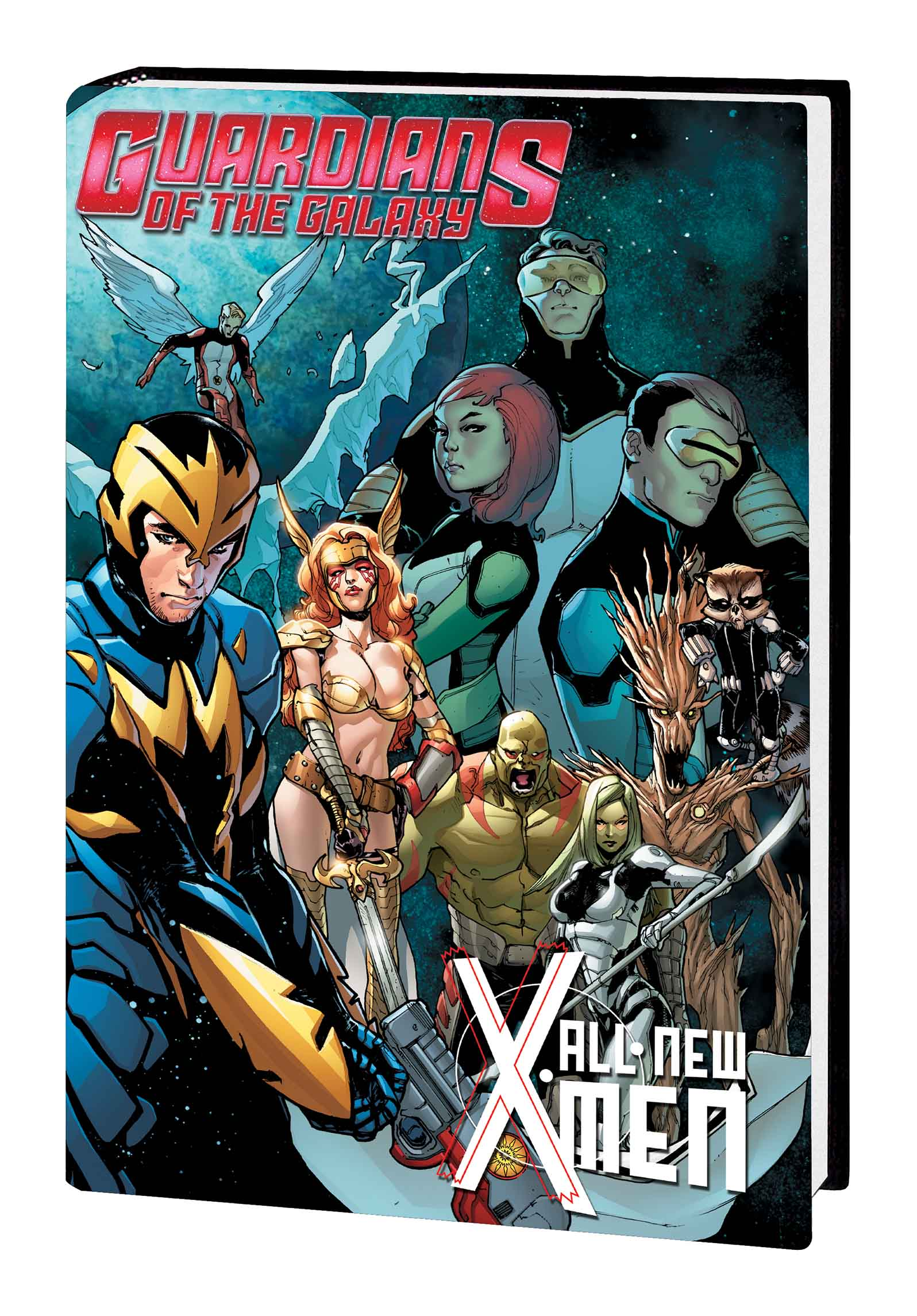 Guardians of the Galaxy/All-New X-Men: The Trial of Jean Grey (Hardcover)