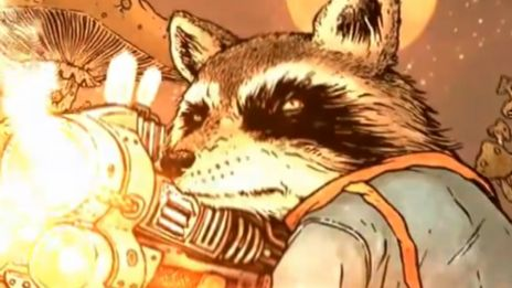 Marvel AR: Rocket Raccoon #1 Cover Recap