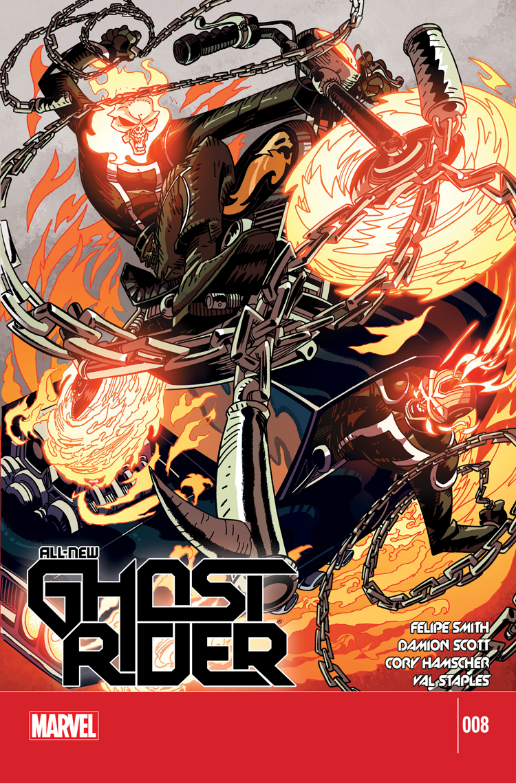All-New Ghost Rider (2014) #8
