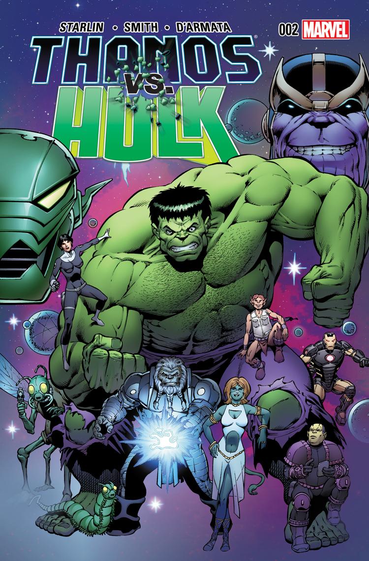 Thanos Vs. Hulk (2014) #2
