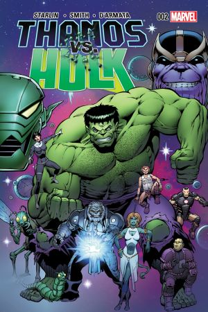 Thanos Vs. Hulk (2014) #2