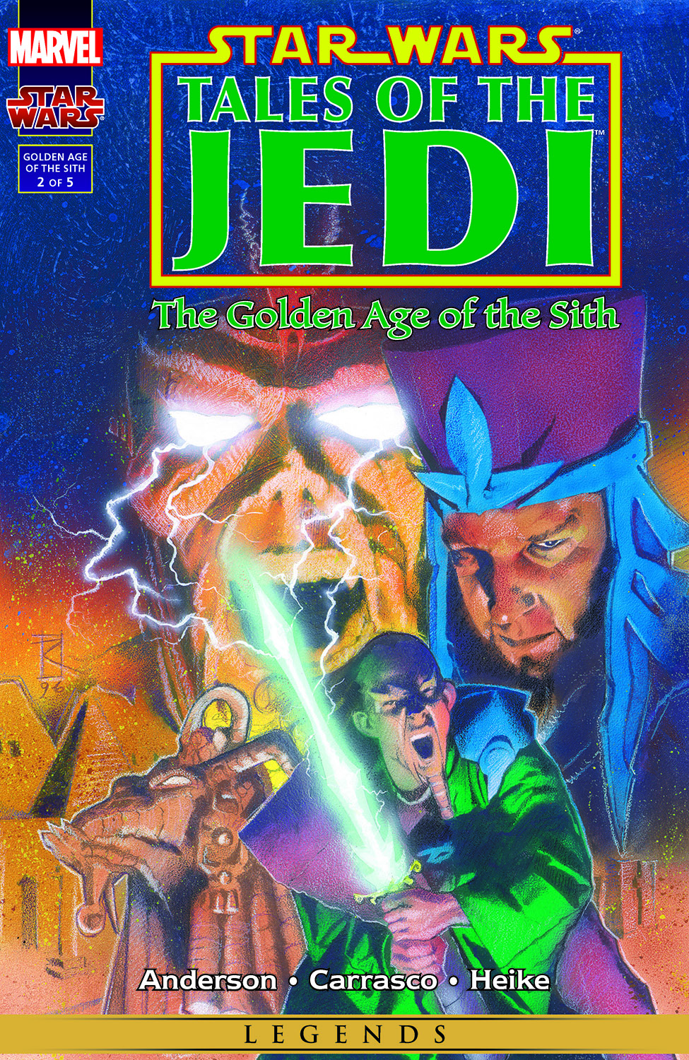 Star Wars: Tales of the Jedi - The Golden Age of the Sith (1996) #2