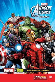 Marvel Universe Avengers Assemble Season Two #12
