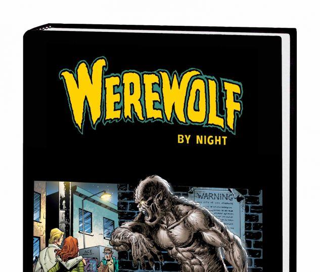 WEREWOLF BY NIGHT OMNIBUS HC PLOOG COVER