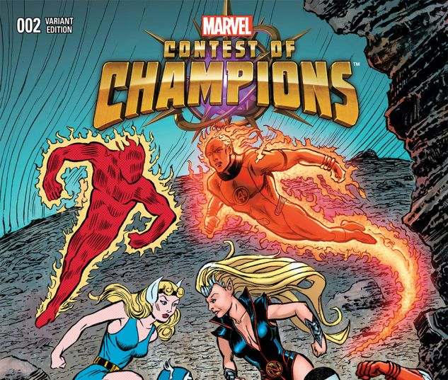 CONTEST OF CHAMPIONS 2 BALD CLASSIC VARIANT (WITH DIGITAL CODE)
