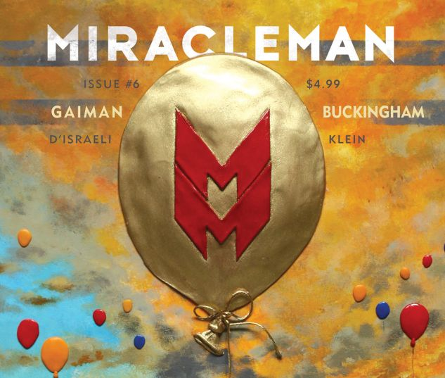 cover from Miracleman by Gaiman & Buckingham (2015) #6